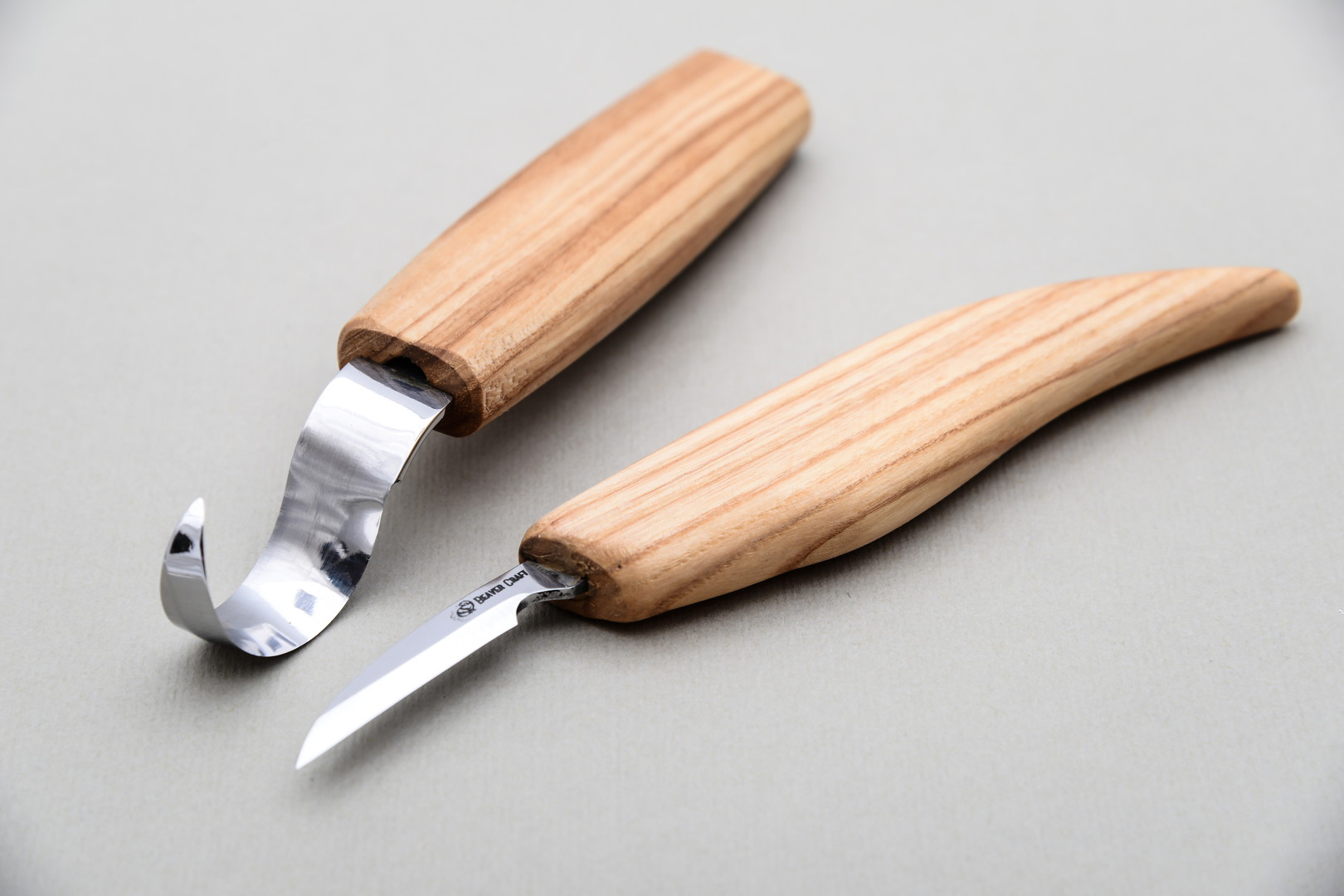 S — spoon carving set with small knife beavercraft