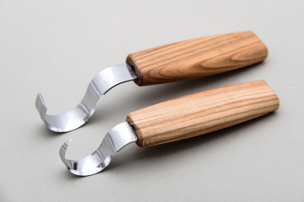 Spoon carving knives from Ukraine by BeaverCraft