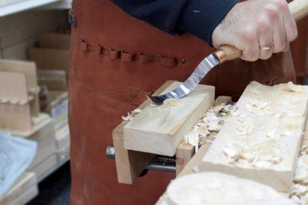 Инструмент для резьбы по дереву ложкорез (нож для вырезания ложки) - купить, заказать в Киеве, Украина