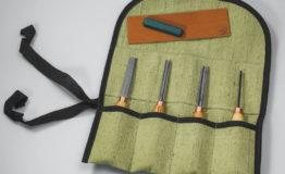 Набор компактных стамесок для резьбы по дереву BeaverCraft SC02. Инструмент для резьбы по дереву в Украине.