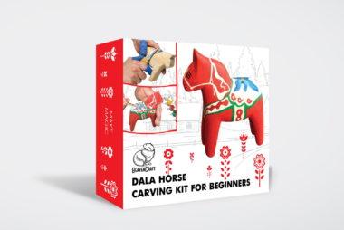 Набор для вырезания лошадки из дерева - BeaverCraft DIY02 - набор для рукоделия, подарок для ребенка